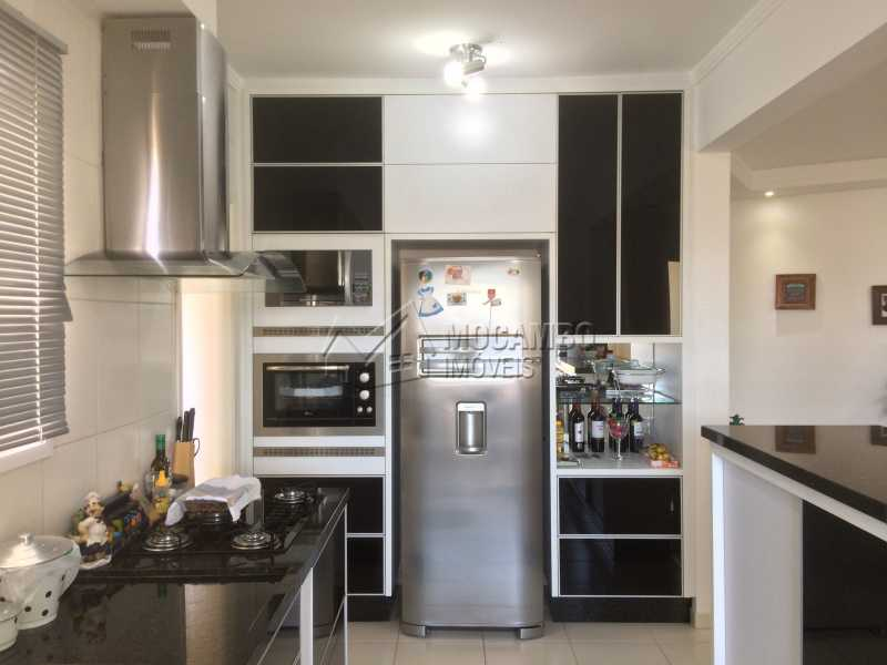 Cozinha - Apartamento Condomínio Edifício Panorama, Rua Augusto Cioffi,Itatiba, Centro, SP À Venda, 3 Quartos, 118m² - FCAP30459 - 9