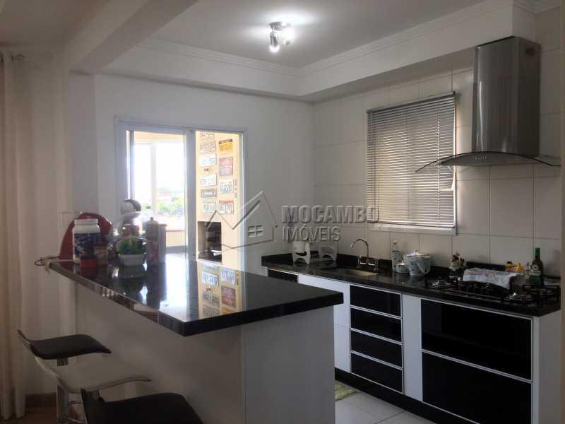 Cozinha - Apartamento Condomínio Edifício Panorama, Rua Augusto Cioffi,Itatiba, Centro, SP À Venda, 3 Quartos, 118m² - FCAP30459 - 10