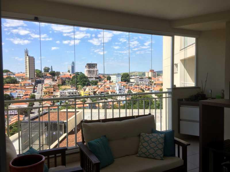 Varanda - Apartamento Condomínio Edifício Panorama, Rua Augusto Cioffi,Itatiba, Centro, SP À Venda, 3 Quartos, 118m² - FCAP30459 - 6