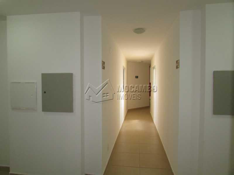 Corredor - Apartamento À Venda no Condomínio Edifício Up Tower Bridge - Bairro da Ponte - Itatiba - SP - FCAP20835 - 5
