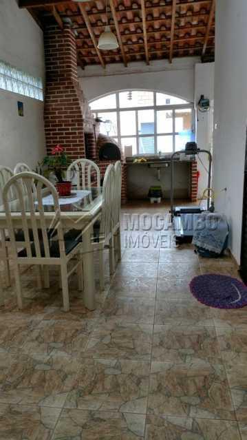 Churrasqueira - Casa em Condomínio 3 quartos à venda Itatiba,SP - R$ 650.000 - FCCN30369 - 12