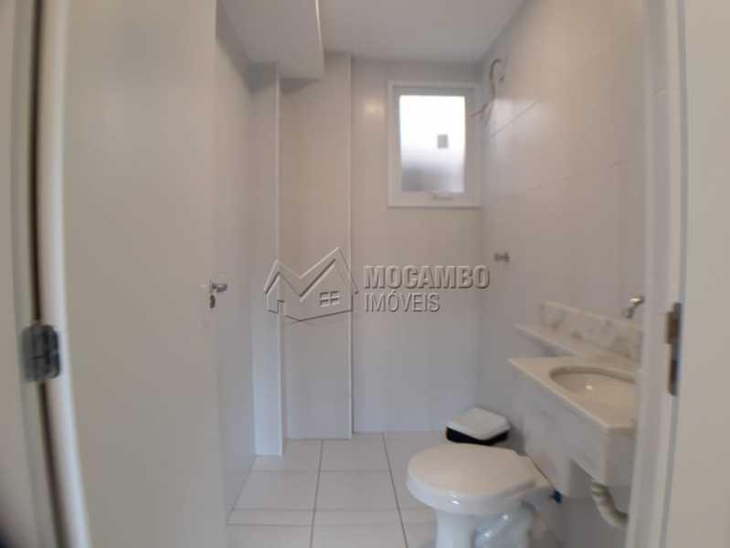 banheiro  - Apartamento Condomínio Edifício Residencial Reserva da Mata, Itatiba, Jardim das Nações, SP À Venda, 2 Quartos, 45m² - FCAP20842 - 8