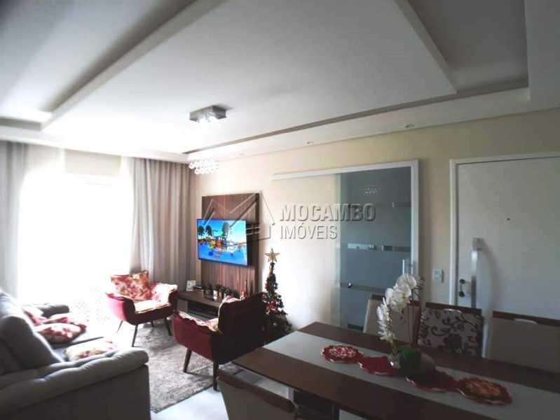 sala e copa  vista acesso int - Apartamento 3 quartos à venda Itatiba,SP - R$ 258.000 - FCAP30460 - 4