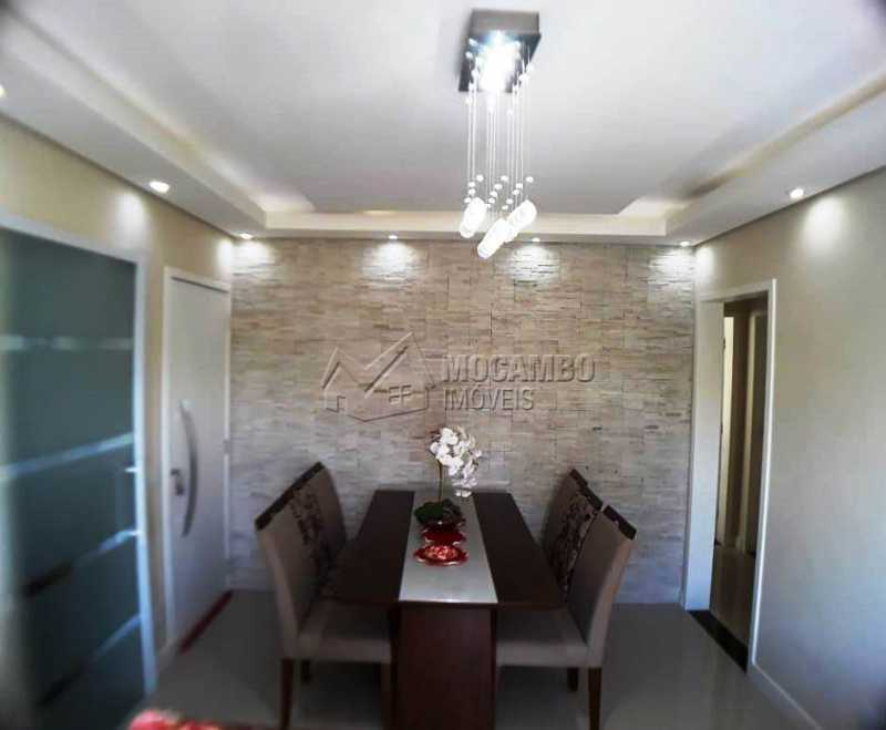 copa parede revestida pedra - Apartamento 3 quartos à venda Itatiba,SP - R$ 258.000 - FCAP30460 - 5