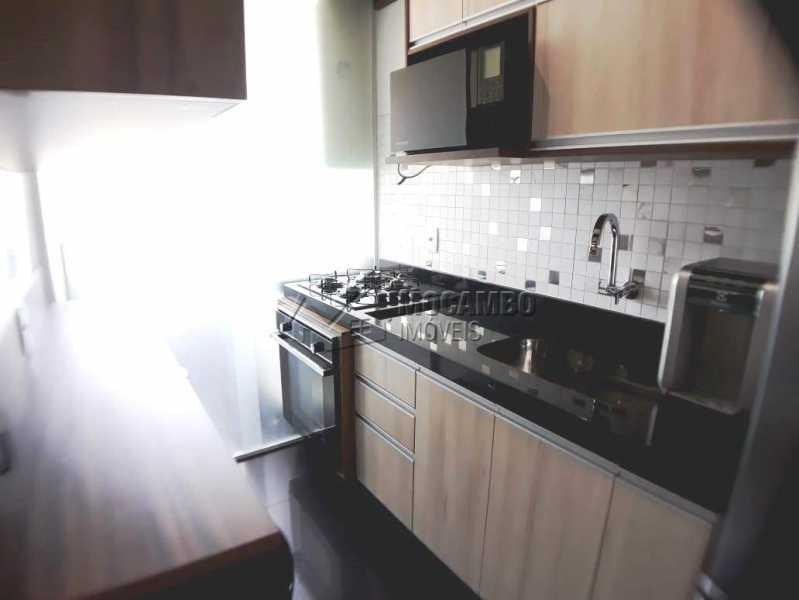 cozinha planejada a - Apartamento 3 quartos à venda Itatiba,SP - R$ 258.000 - FCAP30460 - 6