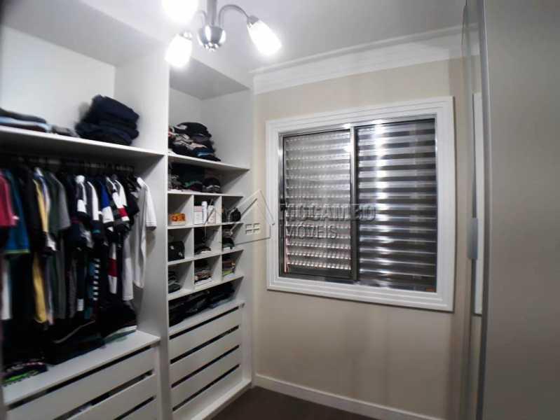 quarto 2 com closet e armarios - Apartamento 3 quartos à venda Itatiba,SP - R$ 258.000 - FCAP30460 - 12
