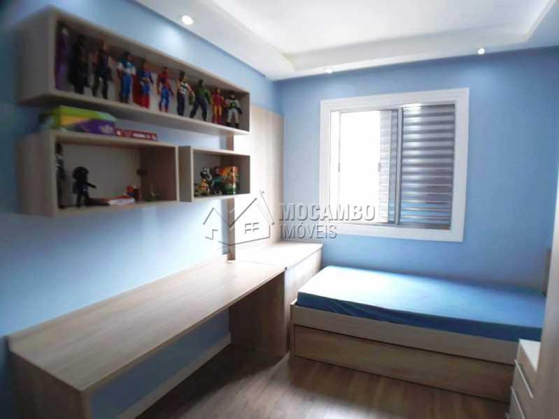 quarto 3 com planejados b - Apartamento 3 quartos à venda Itatiba,SP - R$ 258.000 - FCAP30460 - 14