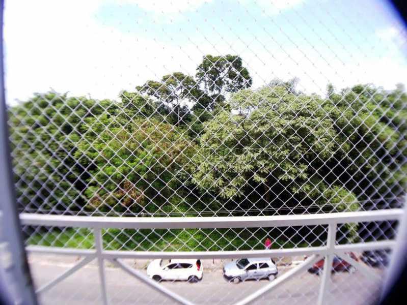 sacada com tela vista area ver - Apartamento 3 quartos à venda Itatiba,SP - R$ 258.000 - FCAP30460 - 3