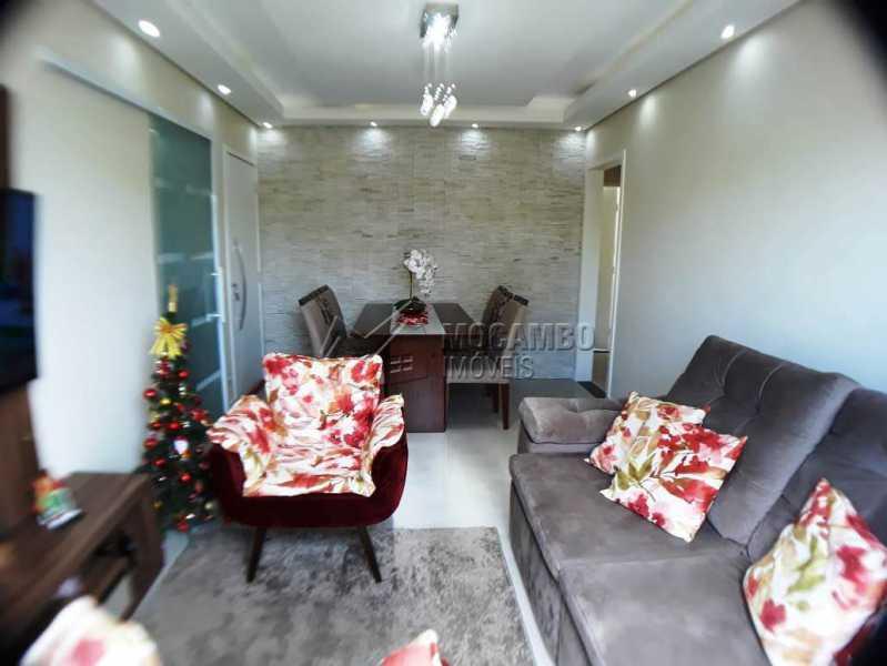 sala e copa - Apartamento 3 quartos à venda Itatiba,SP - R$ 258.000 - FCAP30460 - 1