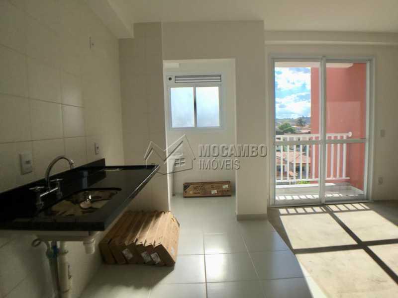 Cozinha / Área de serviço - Apartamento 2 quartos à venda Itatiba,SP - R$ 320.000 - FCAP20844 - 6