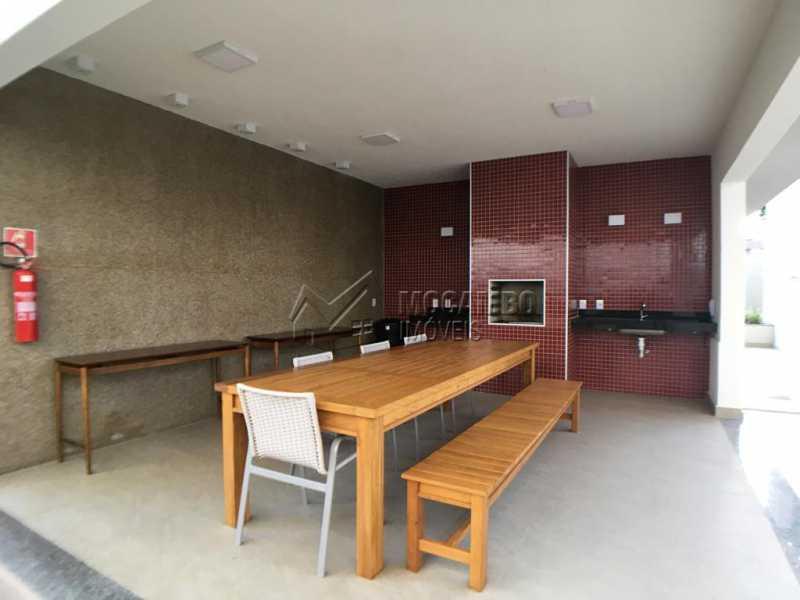 Churrasqueira - Apartamento 2 quartos à venda Itatiba,SP - R$ 320.000 - FCAP20844 - 22