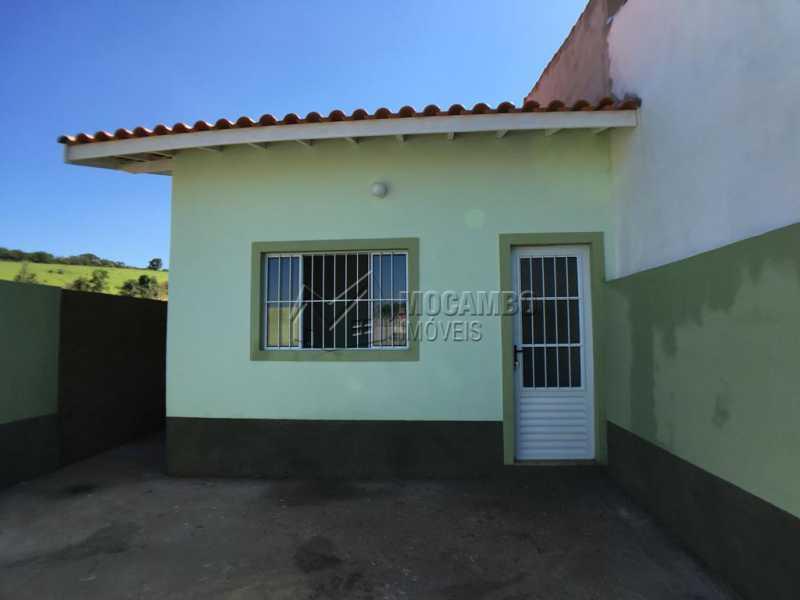 Fachada - Casa Itatiba,Loteamento Horizonte Azul,SP À Venda,2 Quartos,53m² - FCCA21114 - 1