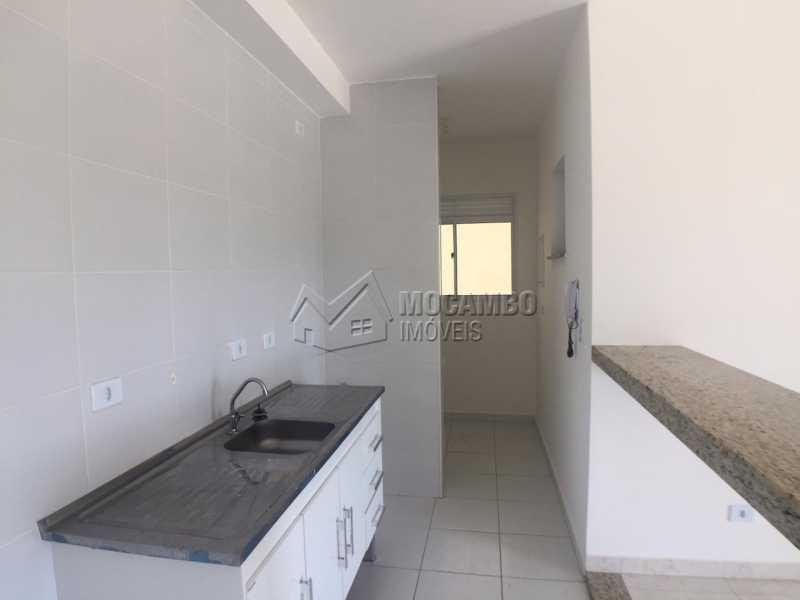 Cozinha com Bancada - Apartamento em condomínio À Venda - Condomínio Edifício Mirante de Itatiba I - Itatiba - SP - Loteamento Santo Antônio - FCAP20845 - 13