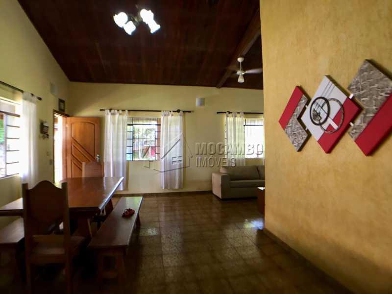 Sala de jantar - Chácara À Venda - Itatiba - SP - Jardim Leonor - FCCH30109 - 3