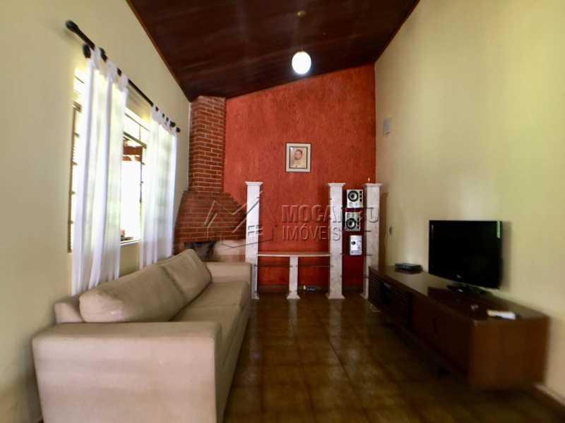 Sala de tv - Chácara À Venda - Itatiba - SP - Jardim Leonor - FCCH30109 - 5