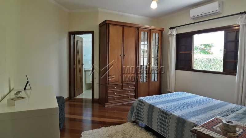 Suíte 01 - Casa em Condomínio 4 Quartos À Venda Itatiba,SP - R$ 1.500.000 - FCCN40121 - 8