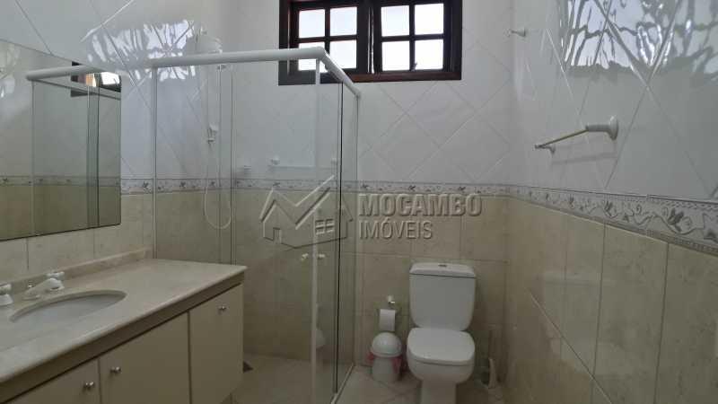 Banheiro da Suíte 01 - Casa em Condomínio 4 Quartos À Venda Itatiba,SP - R$ 1.500.000 - FCCN40121 - 10