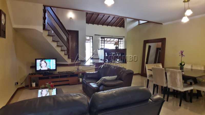 Salas - Casa em Condomínio 4 Quartos À Venda Itatiba,SP - R$ 1.500.000 - FCCN40121 - 7