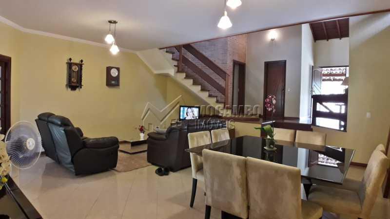 Salas - Casa em Condomínio 4 Quartos À Venda Itatiba,SP - R$ 1.500.000 - FCCN40121 - 6