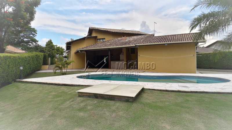 Área de Piscina  - Casa em Condomínio 4 Quartos À Venda Itatiba,SP - R$ 1.500.000 - FCCN40121 - 28