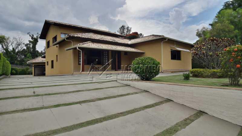 Fachada  - Casa em Condomínio 4 Quartos À Venda Itatiba,SP - R$ 1.500.000 - FCCN40121 - 1