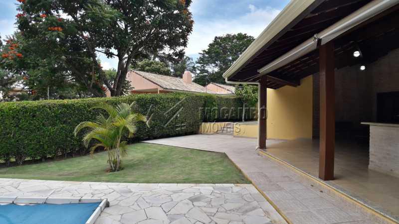Área Lateral Externa - Casa em Condomínio 4 Quartos À Venda Itatiba,SP - R$ 1.500.000 - FCCN40121 - 29