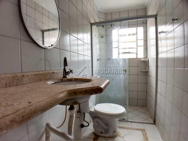 Banheiro Social - Apartamento Residencial Beija-Flor - Condomínio A , Itatiba, Residencial Beija Flor, SP Para Alugar, 2 Quartos, 55m² - FCAP20853 - 8