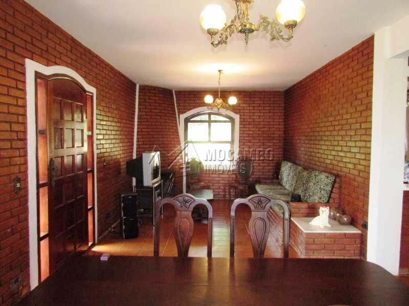 Sala de lareira - Casa em Condominio Para Alugar - Itatiba - SP - Ville Chamonix - FCCN30370 - 5
