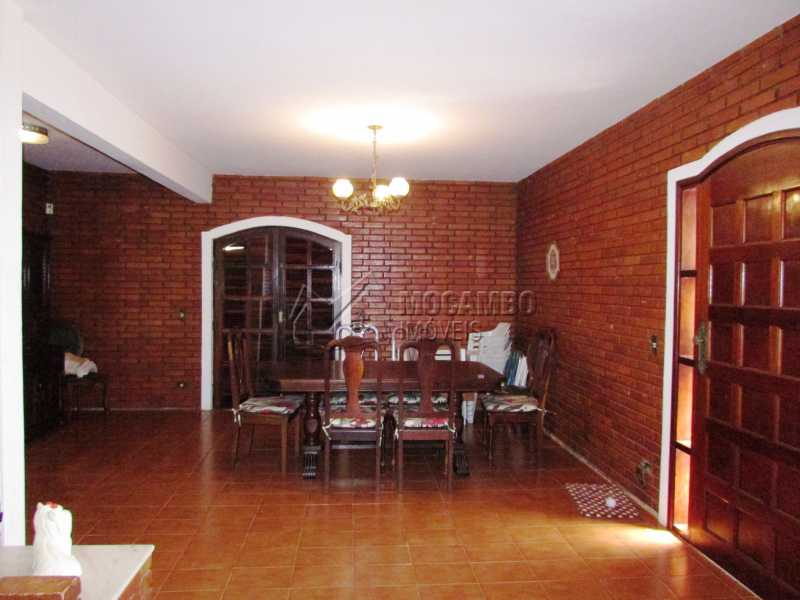 Sala de jantar - Casa em Condominio Para Alugar - Itatiba - SP - Ville Chamonix - FCCN30370 - 4