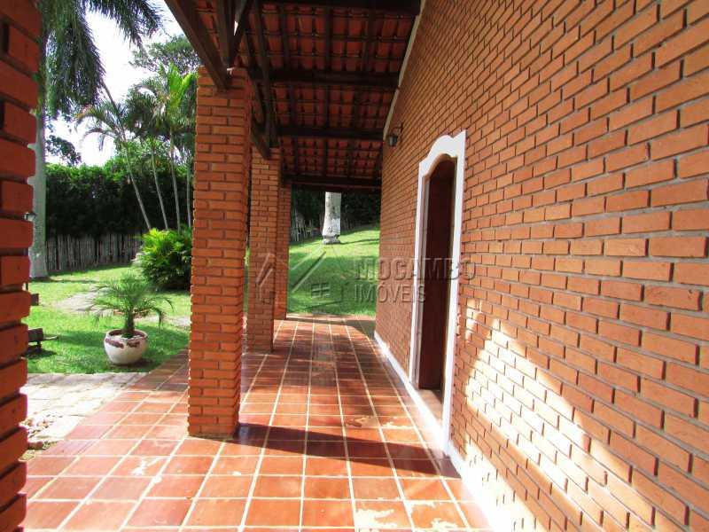 Varanda - Casa em Condominio Para Alugar - Itatiba - SP - Ville Chamonix - FCCN30370 - 11
