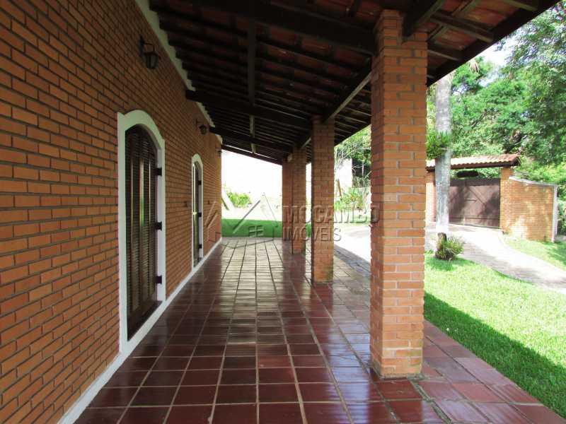 Varanda - Casa em Condominio Para Alugar - Itatiba - SP - Ville Chamonix - FCCN30370 - 12