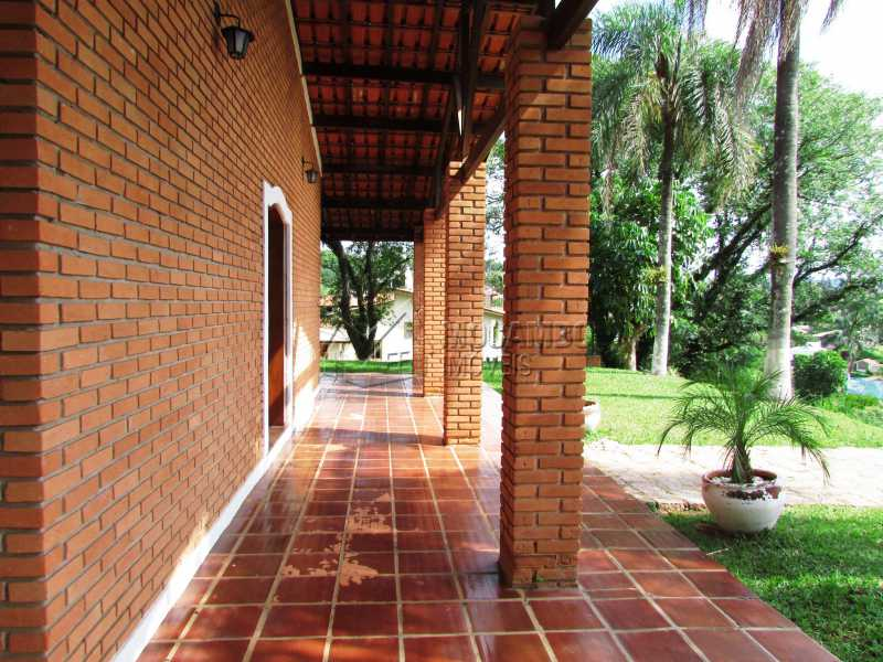 Varanda - Casa em Condominio Para Alugar - Itatiba - SP - Ville Chamonix - FCCN30370 - 13