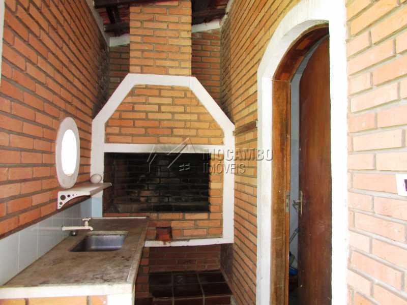 Churrasqueira - Casa em Condominio Para Alugar - Itatiba - SP - Ville Chamonix - FCCN30370 - 14