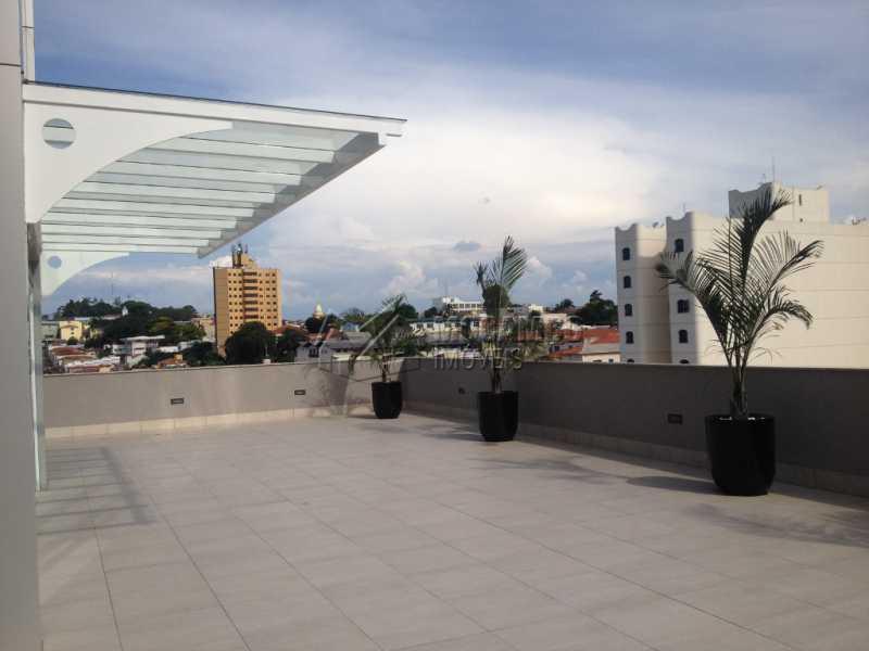 Terraço - Sala Comercial Para Alugar no Condomínio Edifício Office Center - Centro - Itatiba - SP - FCSL00169 - 13