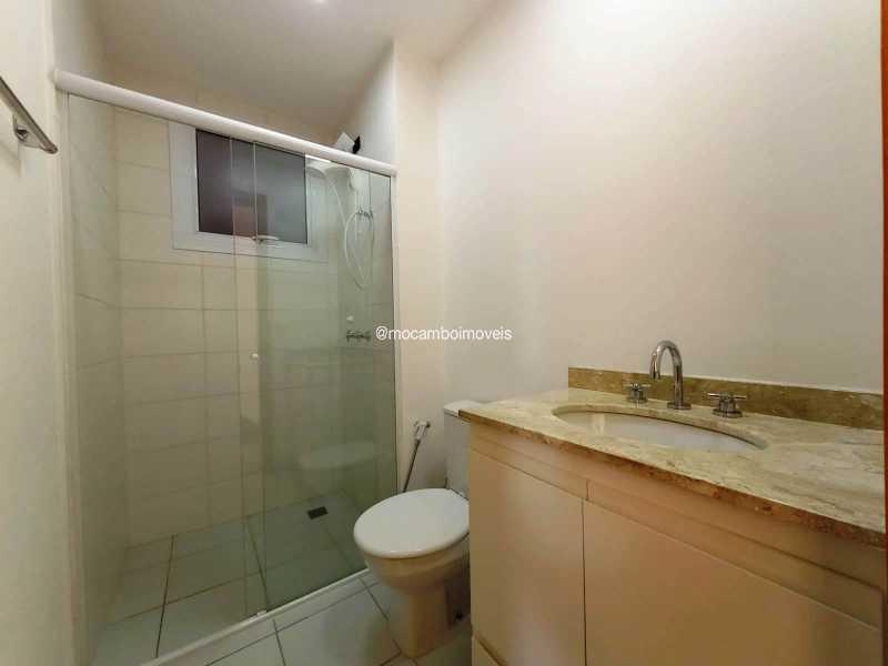 Banheiro Social - Apartamento 3 quartos para alugar Itatiba,SP - R$ 2.300 - FCAP30463 - 14