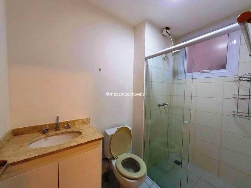 Banheiro da Suíte - Apartamento 3 quartos para alugar Itatiba,SP - R$ 2.300 - FCAP30463 - 26