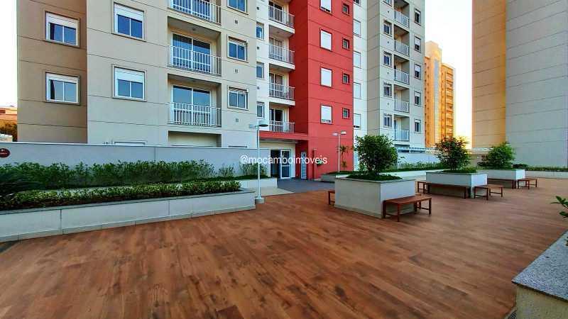 Praça do condomínio  - Apartamento 3 quartos para alugar Itatiba,SP - R$ 2.300 - FCAP30463 - 29