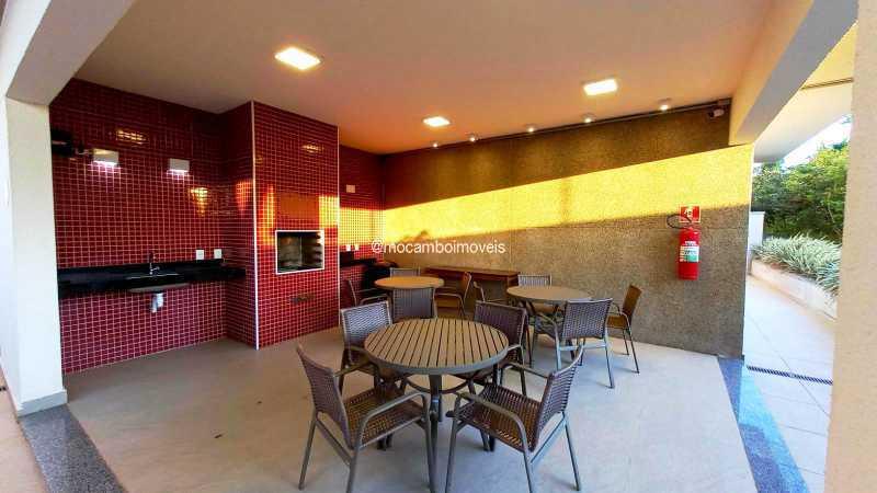 Areá da Churrasqueira - Apartamento 3 quartos para alugar Itatiba,SP - R$ 2.300 - FCAP30463 - 31