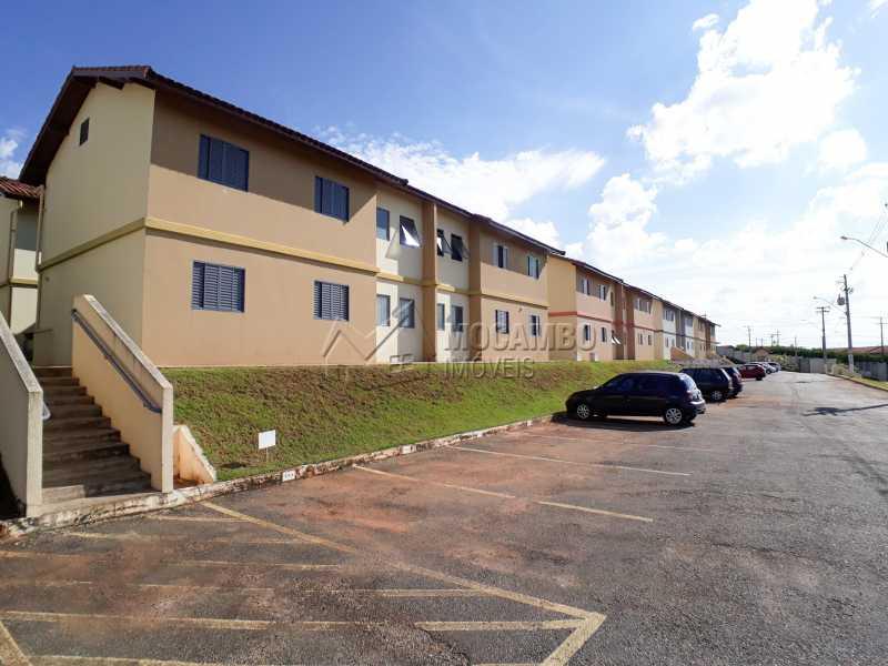 Fachada - Apartamento Para Venda ou Aluguel - Itatiba - SP - Residencial Beija Flor - FCAP30462 - 1