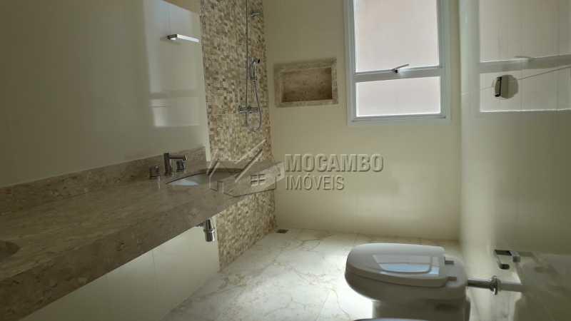 Banheiro da suíte - Casa em Condominio À Venda - Itatiba - SP - Residencial Fazenda Serrinha - FCCN40122 - 18