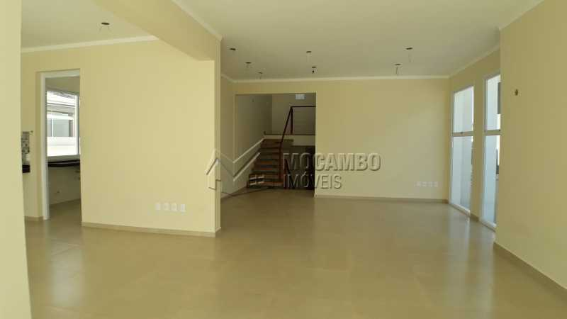 Sala - Casa em Condominio À Venda - Itatiba - SP - Residencial Fazenda Serrinha - FCCN40122 - 9