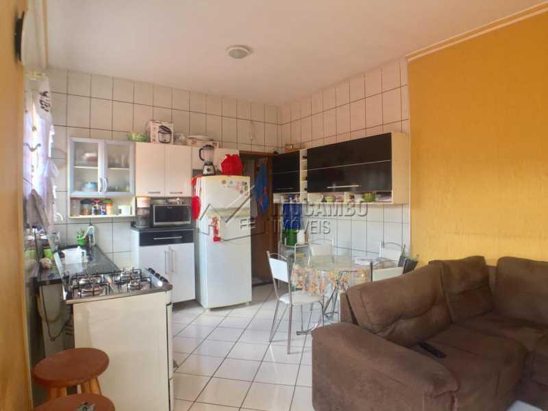 Sala e Cozinha  - Casa 2 quartos à venda Itatiba,SP - R$ 260.000 - FCCA21132 - 4