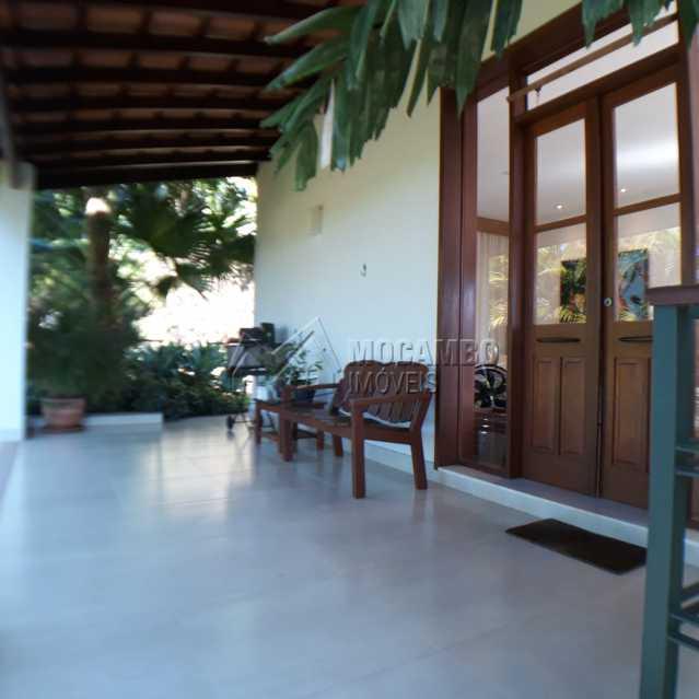 varanda da sala - Casa em Condomínio 4 quartos à venda Itatiba,SP - R$ 1.200.000 - FCCN40125 - 4
