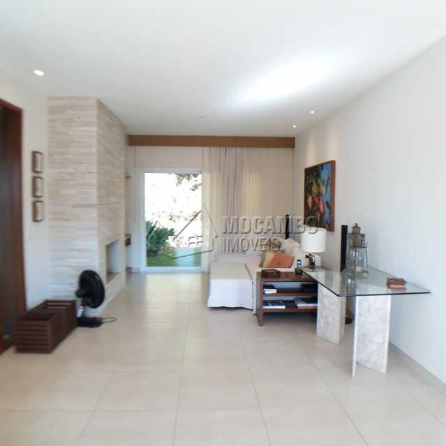 sala lareira - Casa em Condomínio 4 quartos à venda Itatiba,SP - R$ 1.200.000 - FCCN40125 - 5
