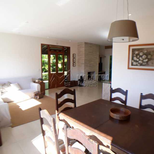 sala 3 ambiente  jantar - Casa em Condomínio 4 quartos à venda Itatiba,SP - R$ 1.200.000 - FCCN40125 - 6