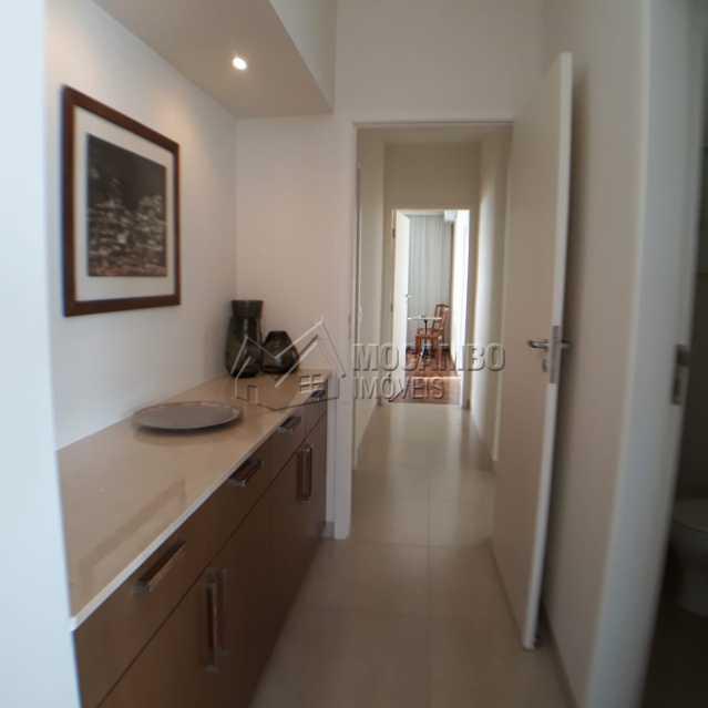 passagem para dormitórios - Casa em Condomínio 4 quartos à venda Itatiba,SP - R$ 1.200.000 - FCCN40125 - 12