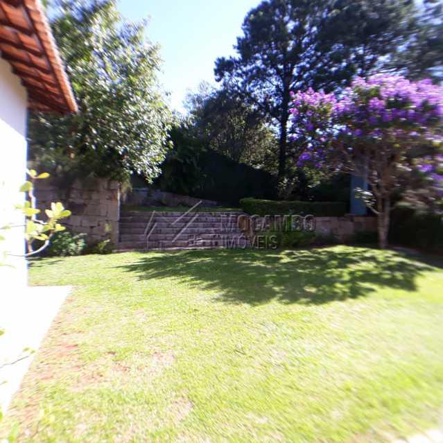 quintal vista do portao acesso - Casa em Condomínio 4 quartos à venda Itatiba,SP - R$ 1.200.000 - FCCN40125 - 23