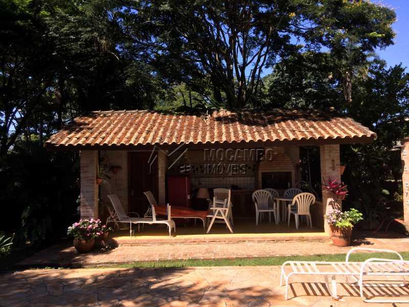 Área de churrasqueira - Casa em Condominio À Venda - Itatiba - SP - Sítio da Moenda - FCCN30372 - 5