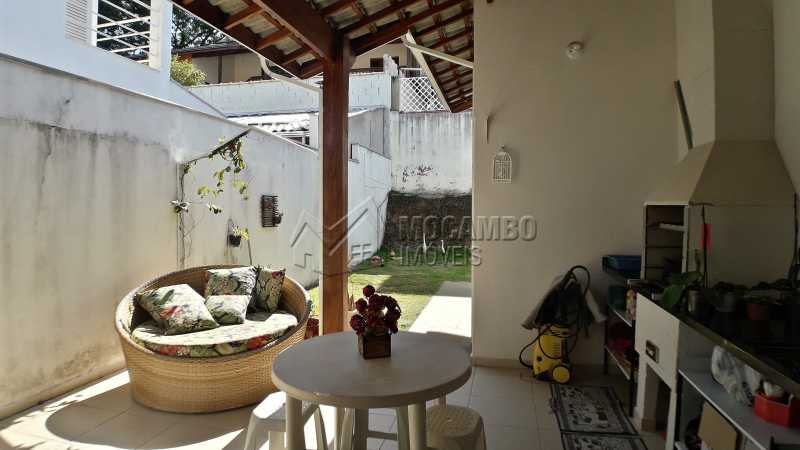 Área Gourmet - Casa À Venda no Condomínio Itatiba Country Club - Residencial Fazenda Serrinha - Itatiba - SP - FCCN30373 - 7