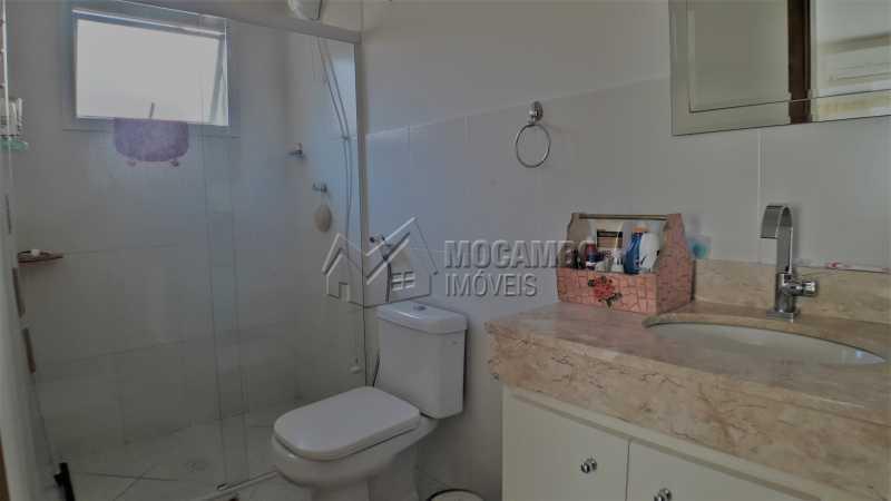 Banheiro Suíte - Casa À Venda no Condomínio Itatiba Country Club - Residencial Fazenda Serrinha - Itatiba - SP - FCCN30373 - 13